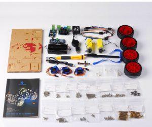 Комплект умный робот автомобиль Raspberry Pi 3 :