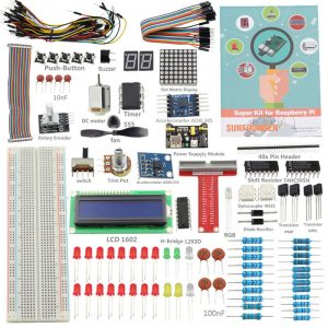 Комплект поставки SunFounder Starter Kit V2.0 для Raspberry Pi 3