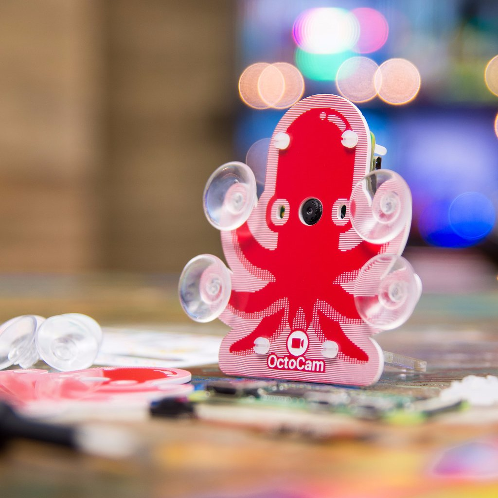 OctoCam - комплект на raspberry Zero W видеонаблюдение