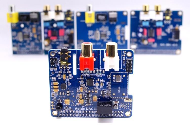 Звуковая карта DAC II HiFi ES9018K2M для Raspberry Pi 3