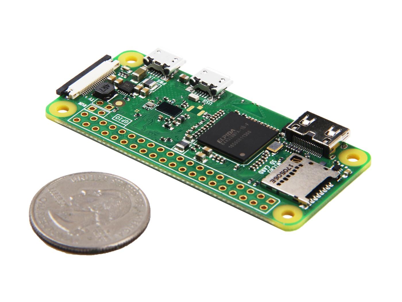ОсобенностиRaspberry Pi zero W