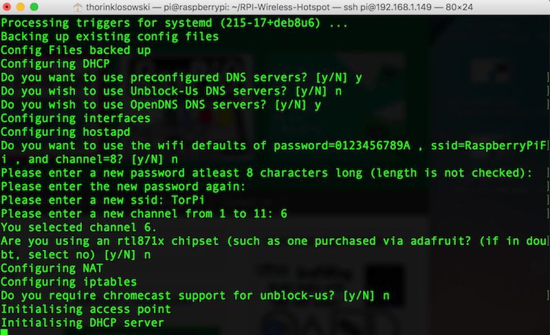 Превратите свой Raspberry Pi В точку доступа