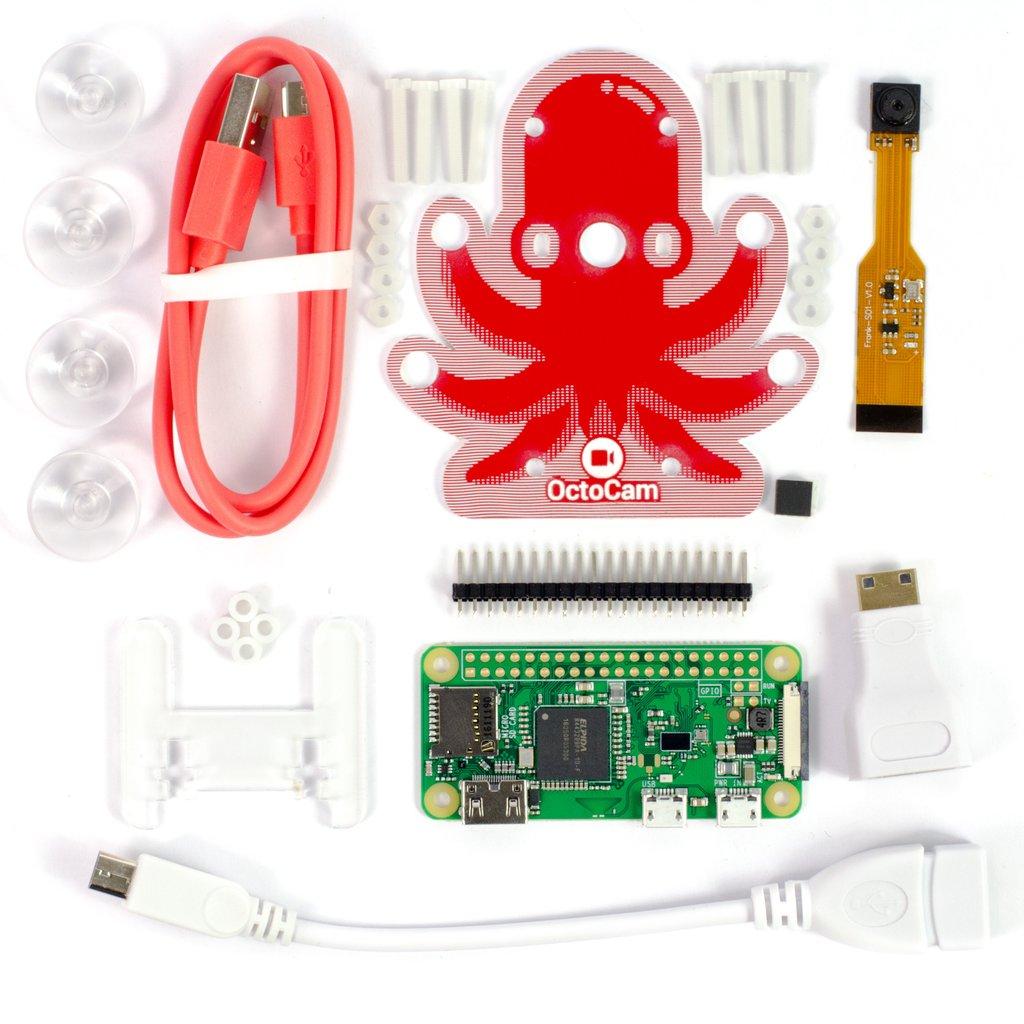 Комплект поставки OctoCam комплект на raspberry Zero W видеонаблюдения