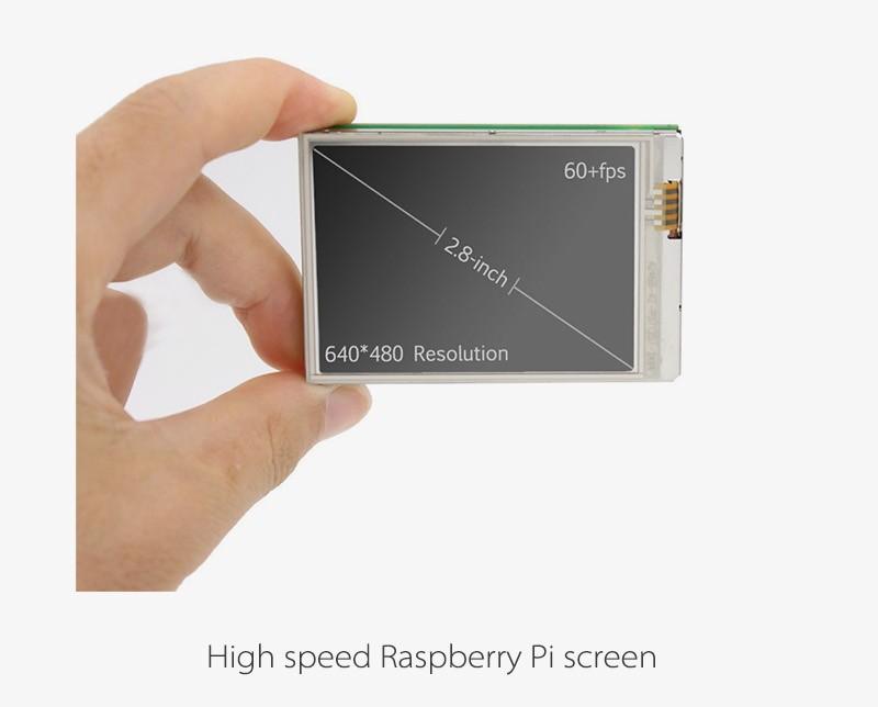 Идеально подходит для вашего Pi zero/zero w, портативный монитор