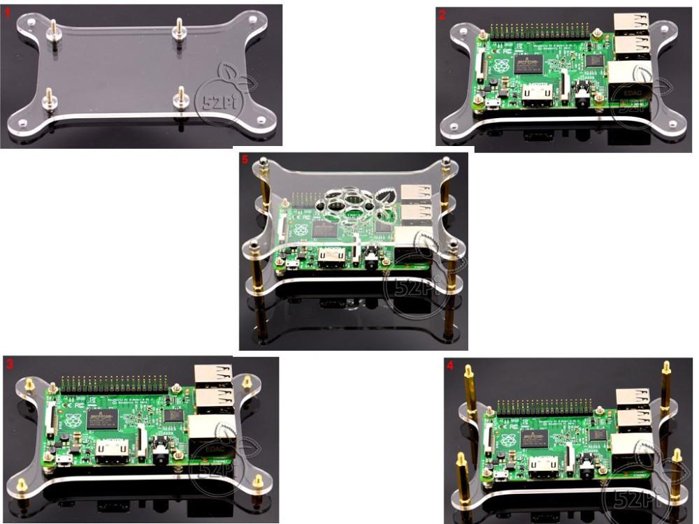 Как собратьпрозрачный корпус с логотипом для Raspberry Pi