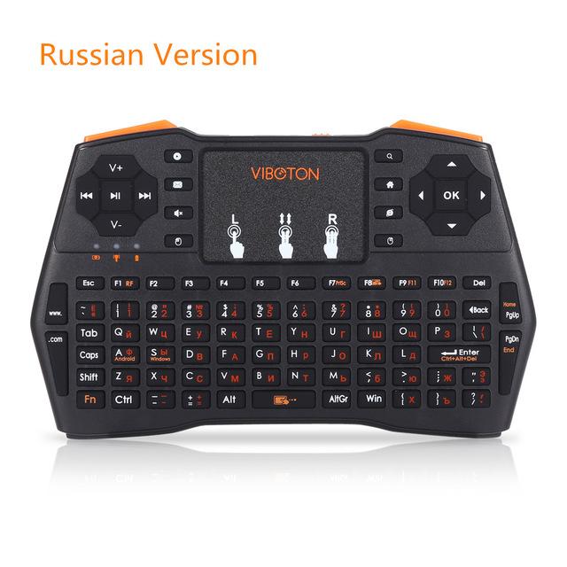 i8 беспроводной мини клавиатуры с тачпадом русская версия