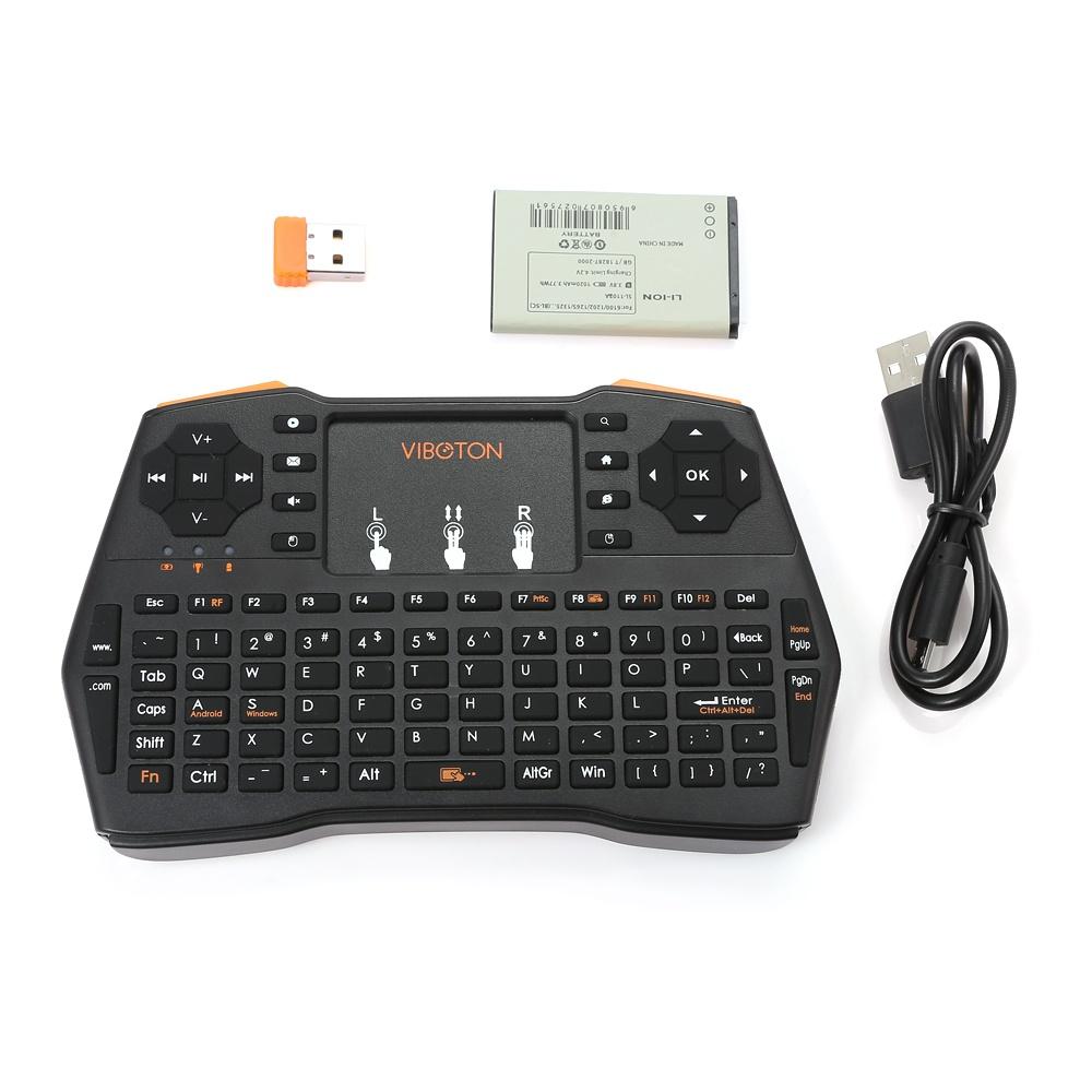 Комплектi8 беспроводная мини клавиатура с тачпадом