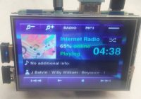 Интернет радио и mp3 плеер на raspberry pi 3