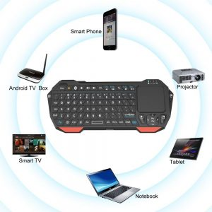 Bluetooth клавиатура с тачпадом