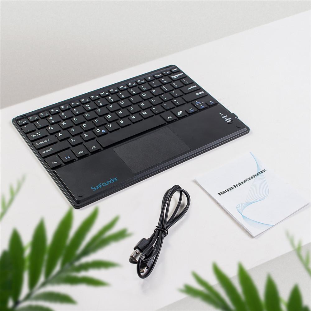 Комплект поставки10 дюймовой беспроводной Bluetooth клавиатуры для Raspberry Pi с тачпадом