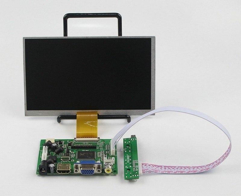 КупитьЖК дисплей 7 дюймовый экран с пультом дистанционного управления для Raspberry Pi 3